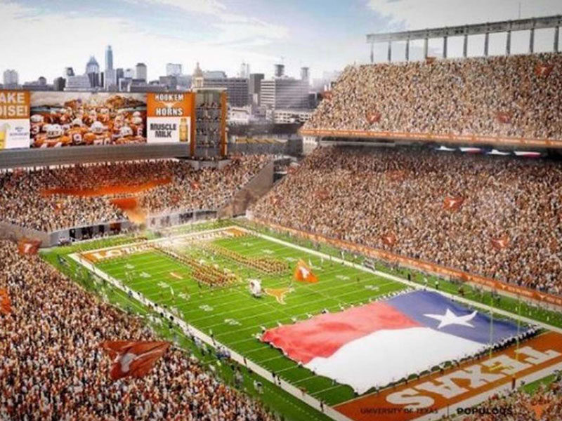 Texas Royal Memorial Stadium