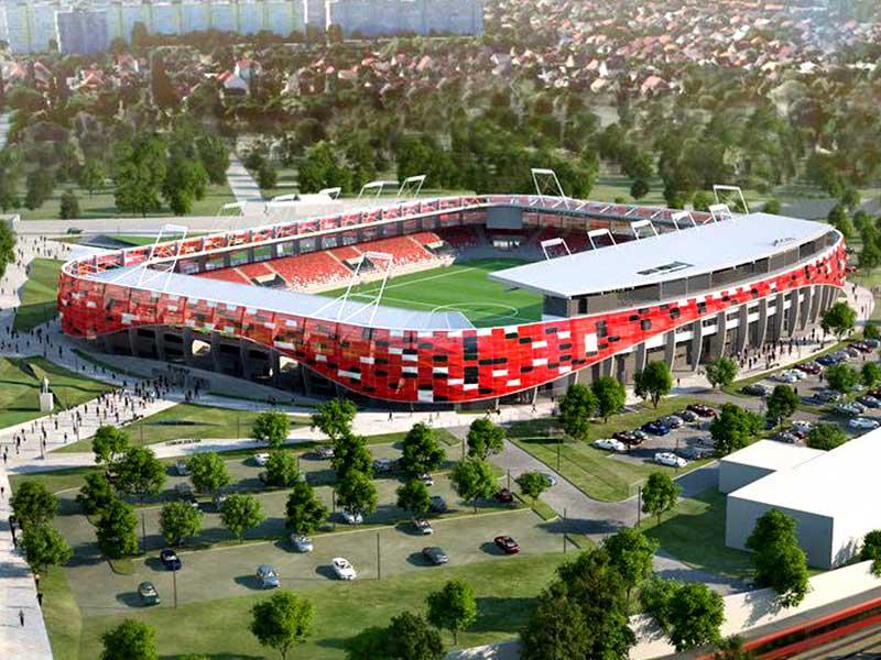 Honvéd Budapest new stadium