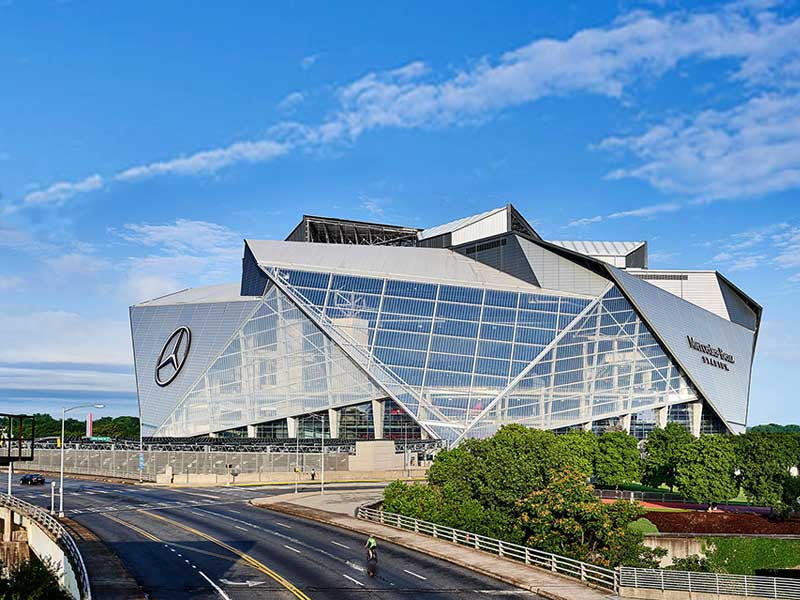Mercedes-Benz-Stadium Atlanta taxes