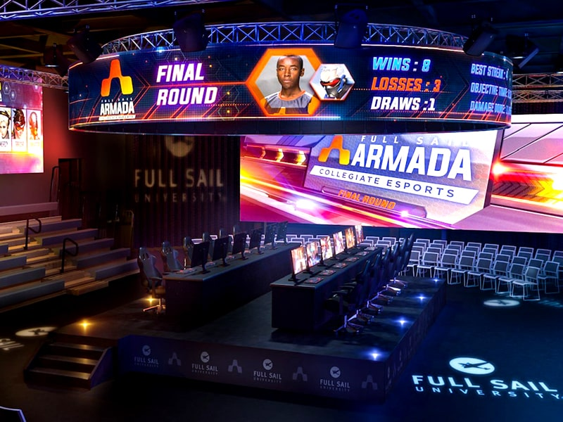 Full Sail University Esports Arena