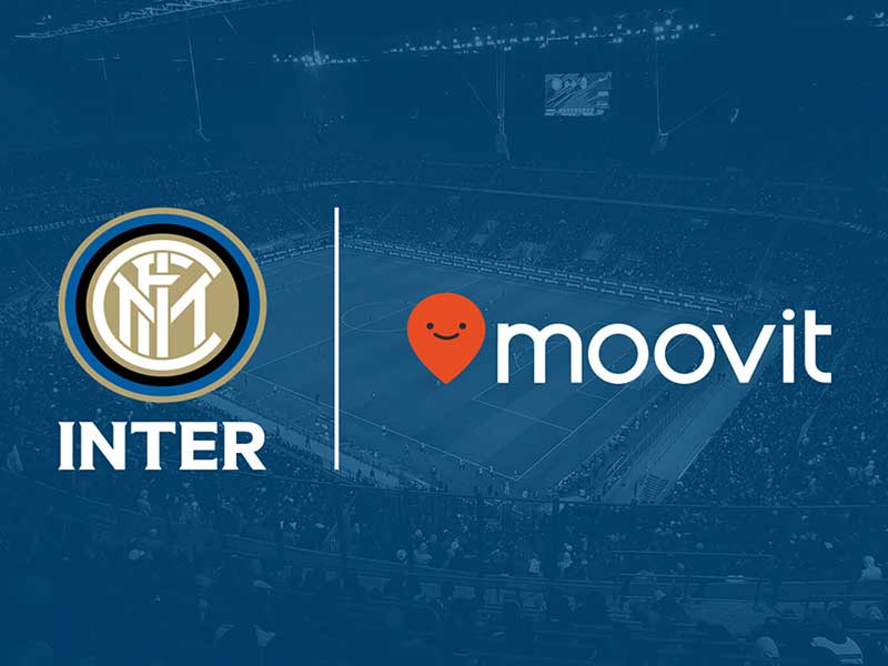 Inter Milan and Moovit ties up