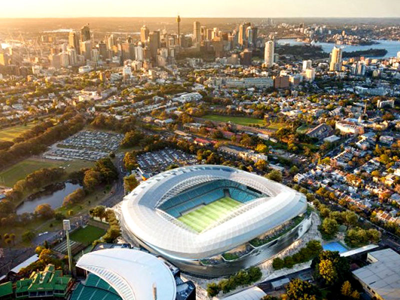 Sydney new football stadium
