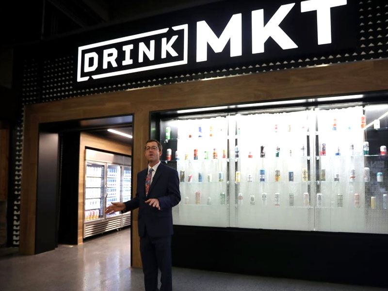 Drink MKT store at Empower Field at Mile High