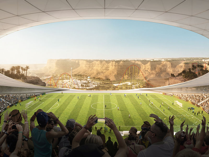 Qiddiya Cliff Edge Stadium