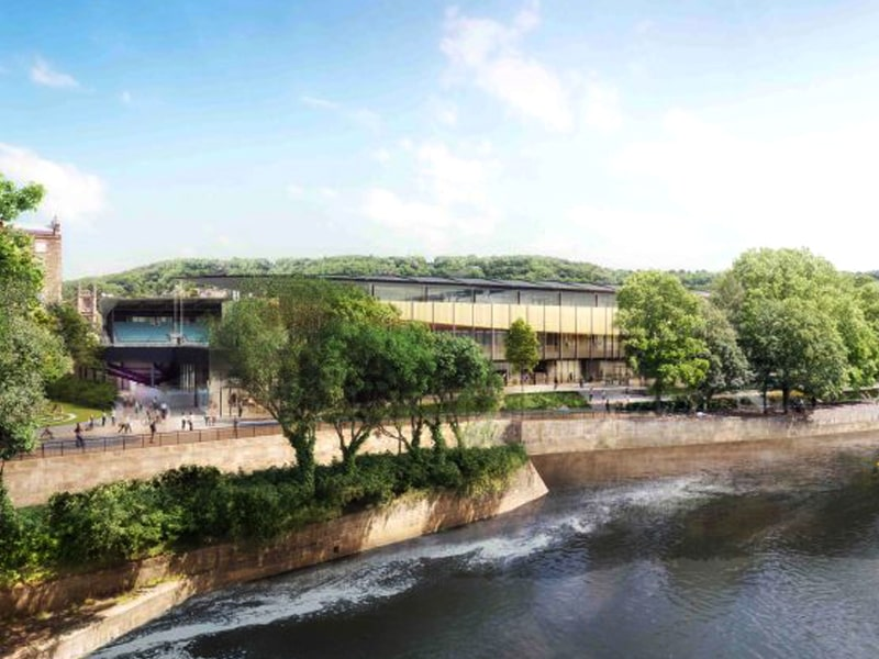 Stadium for Bath unlocks design of sleek venue