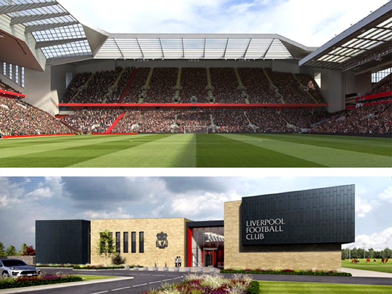 Liverpool Football Club has taken the account of Anfield Road Stan expansion