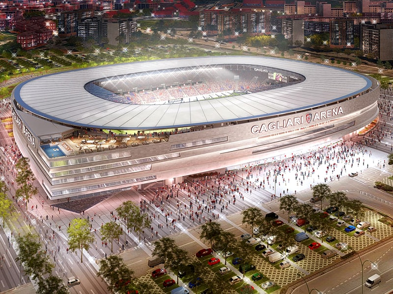 Cagliari Stadium update Jan 2020