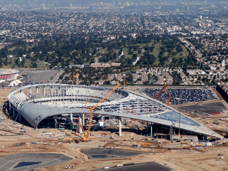 SoFi Stadium - LA Bowl February 2020 update