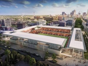 St. Louis MLS Stadium March 2020 update