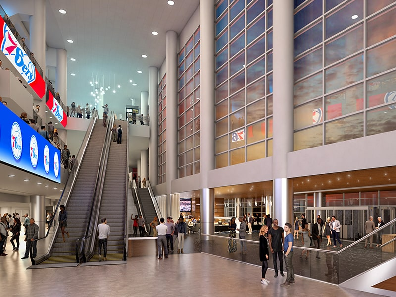 Wells Fargo Center update March 2020