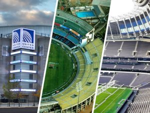Stadiums used as hospitals combat coronavirus