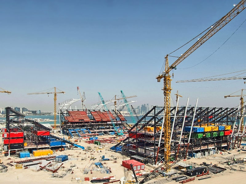 Qatar Ras Abu Aboud Stadium May 2020