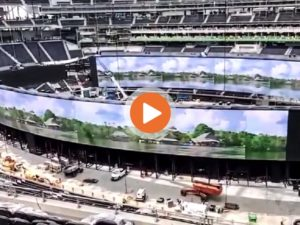 SoFi Stadium construction May 2020 update