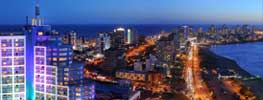 Uruguay night view