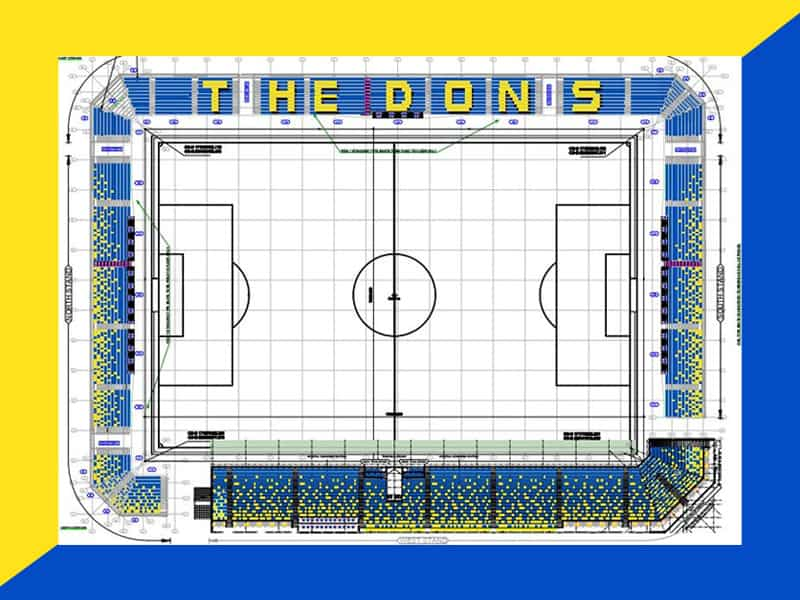 AFC Wimbledon seating bowl June 2020