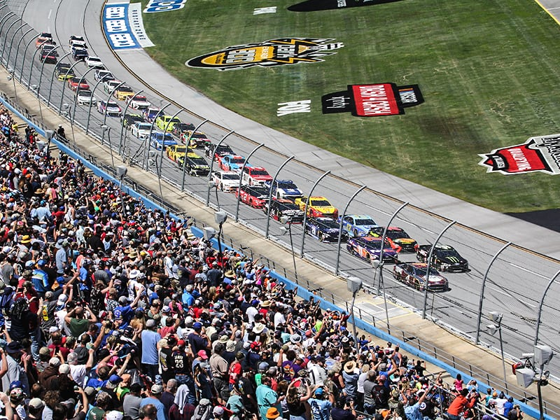 NASCAR back with fans June 2020