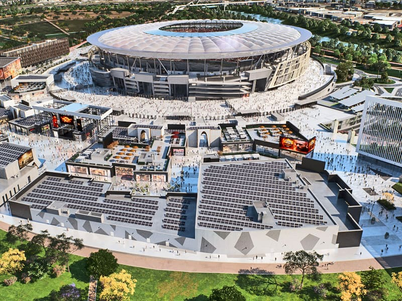 AS Roma new stadium July 2020
