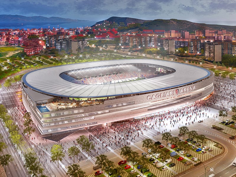 Cagliari Stadium update May 2020