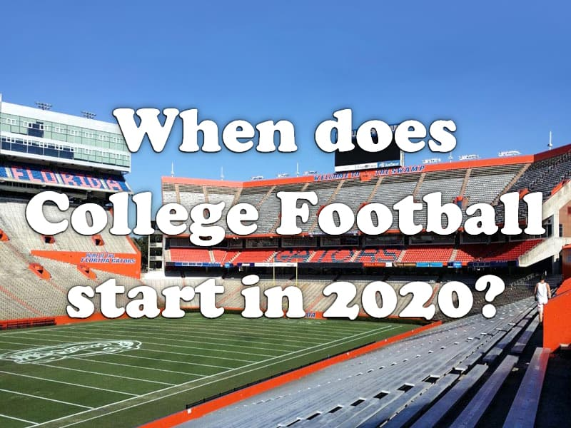 College Football July 2020