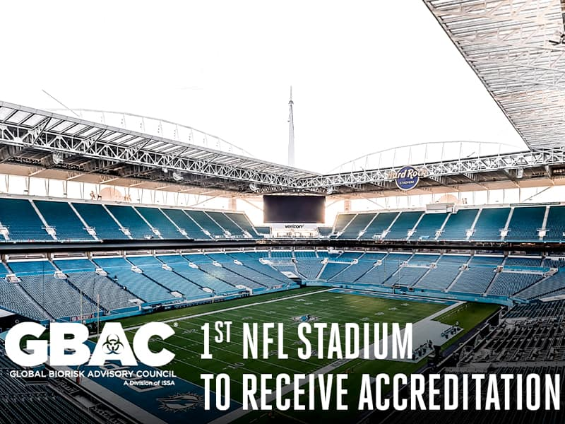 Hard Rock Stadium receives accreditation