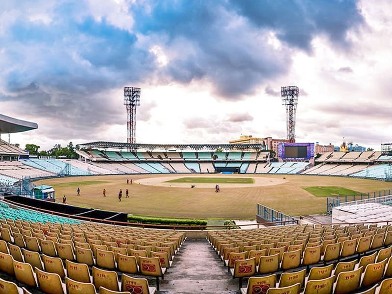 India Kolkata The Eden Gardens covid facility