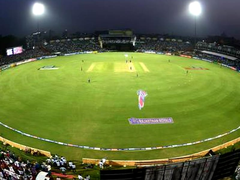 India Sawai Mansingh Stadium - Ground for the new Rajasthan Cricket Stadium