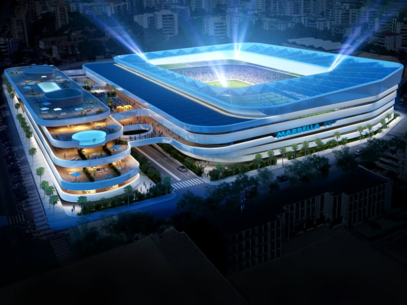 Spain Marbella FC new stadium