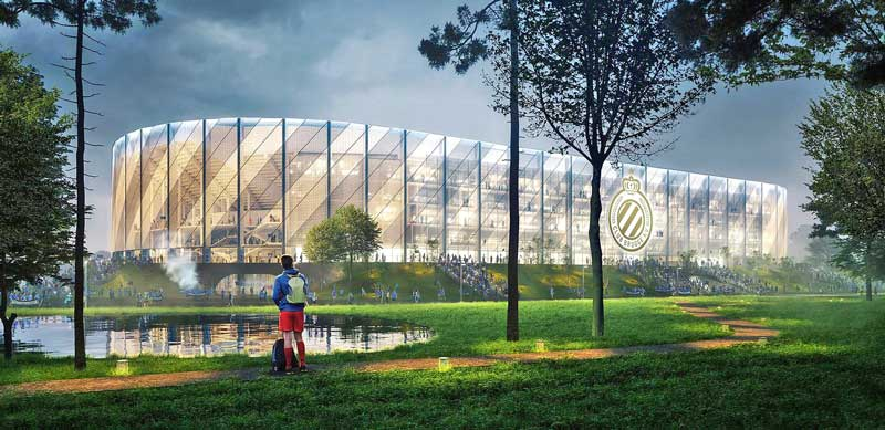Club Brugge New Venue Plans May Bear Fruit Coliseum