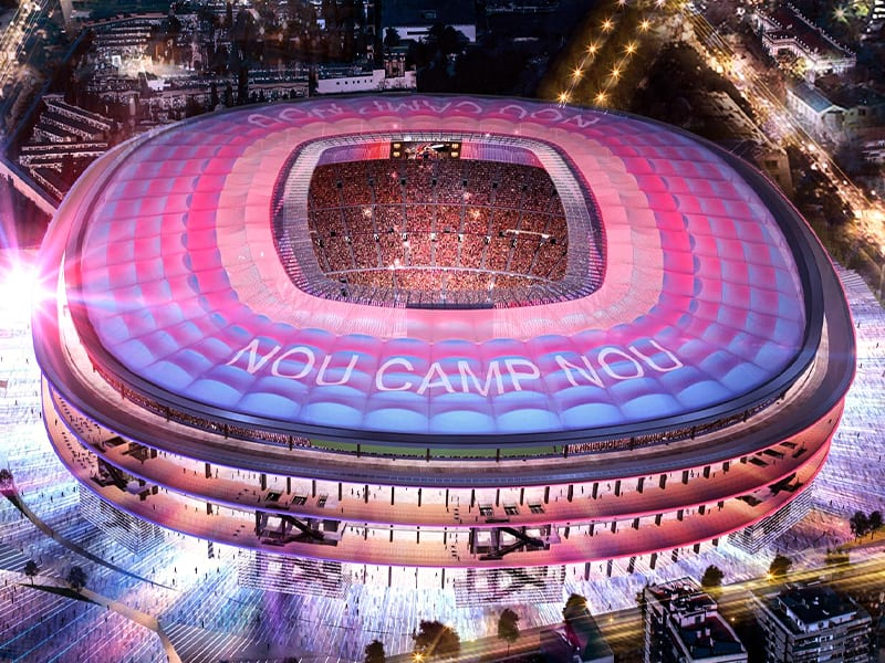 Camp Nou update Aug 2020