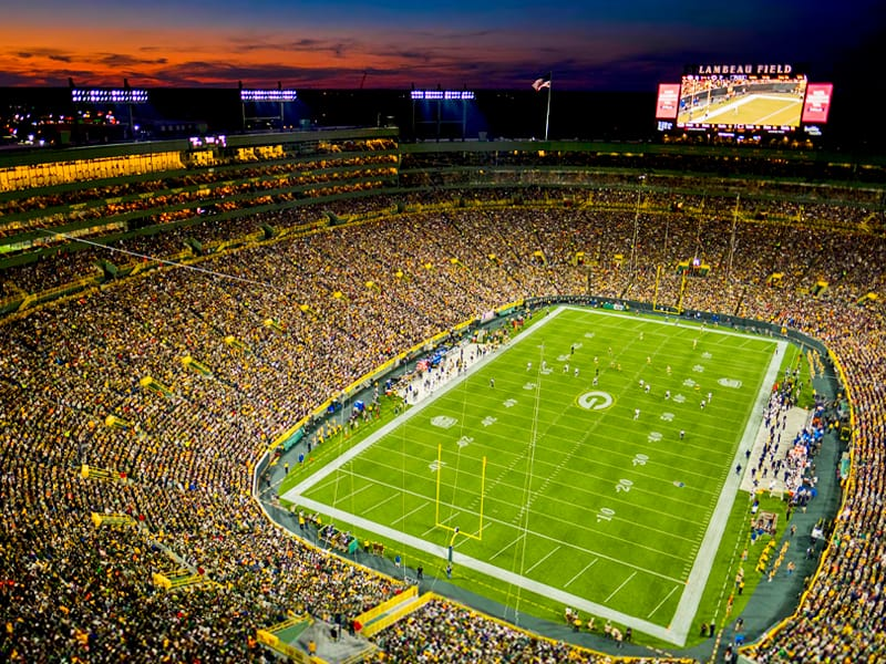 Lambeau Field with incremental strategy