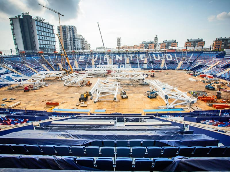 Levante Stadium update July 2020