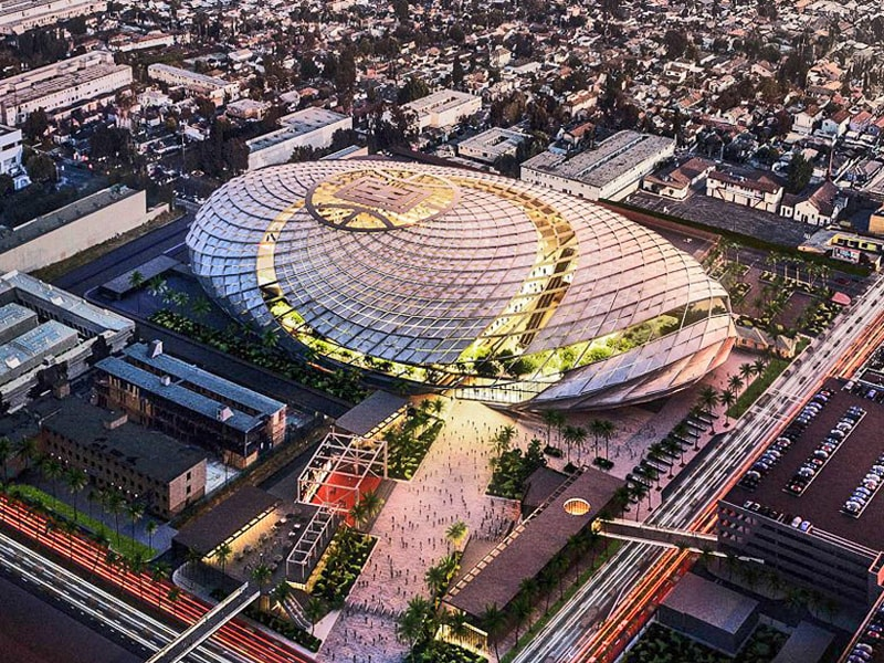 Los Angeles Clippers new arena - August 2020