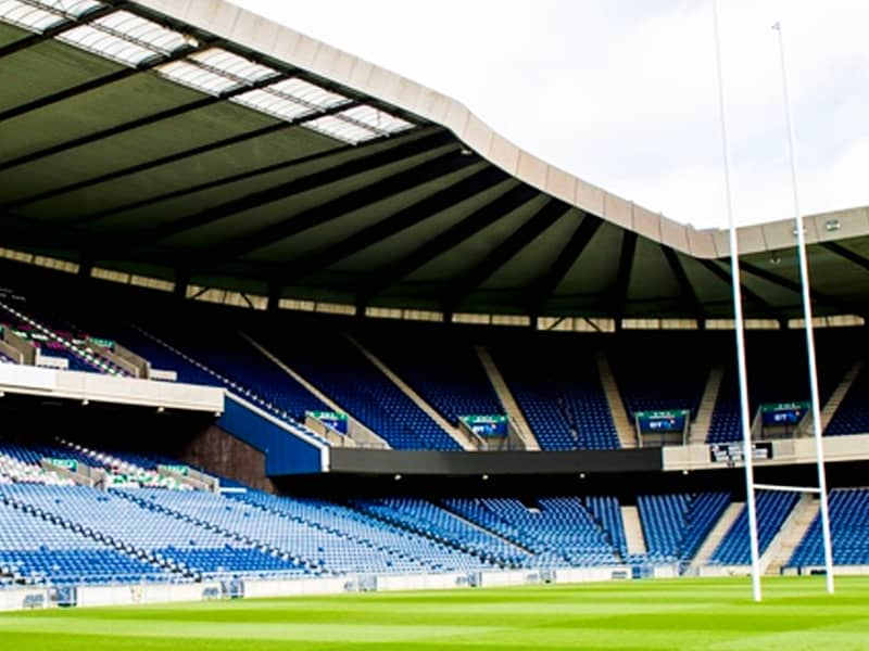 Scottish Rugby back with fans BT Murrayfield