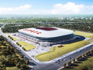 China Shanghai Pudong Stadium opening