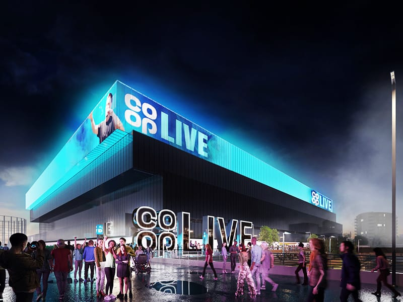 Manchester Arena OVG update September 2020