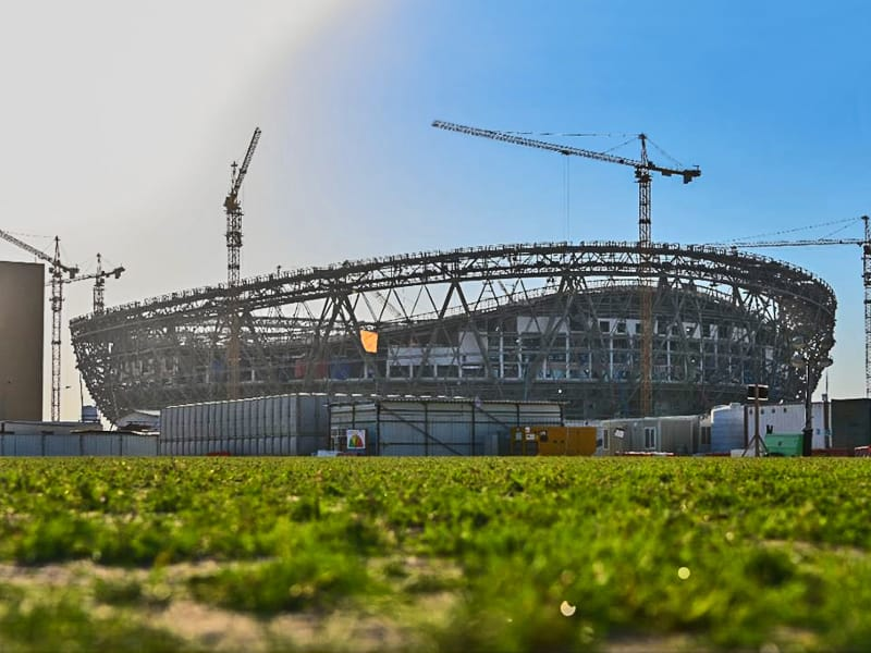 Qatar Lusail Stadium update September 2020