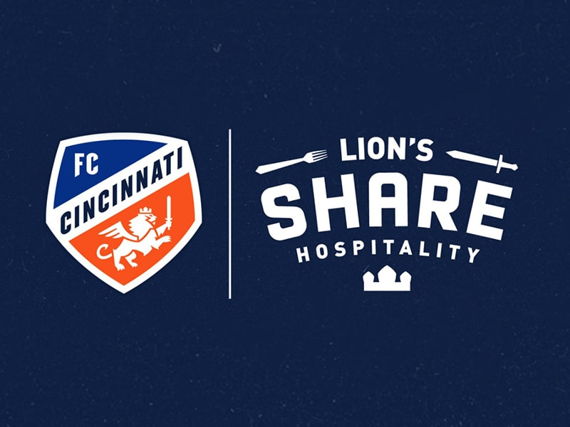 FC Cincinnati and Lions Share Hospitality
