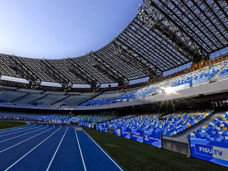 Napoli San Paolo re-named to Maradona Stadium