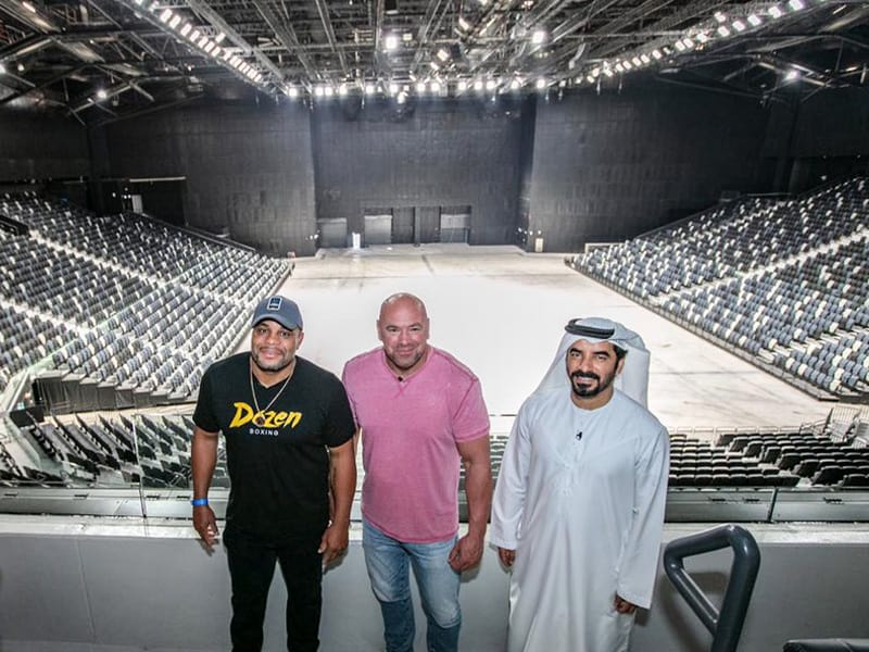 Etihad Arena Abu Dhabi October