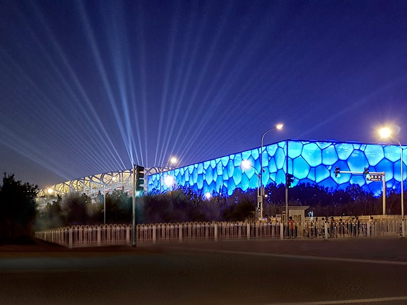 China Water Cube renovation completed