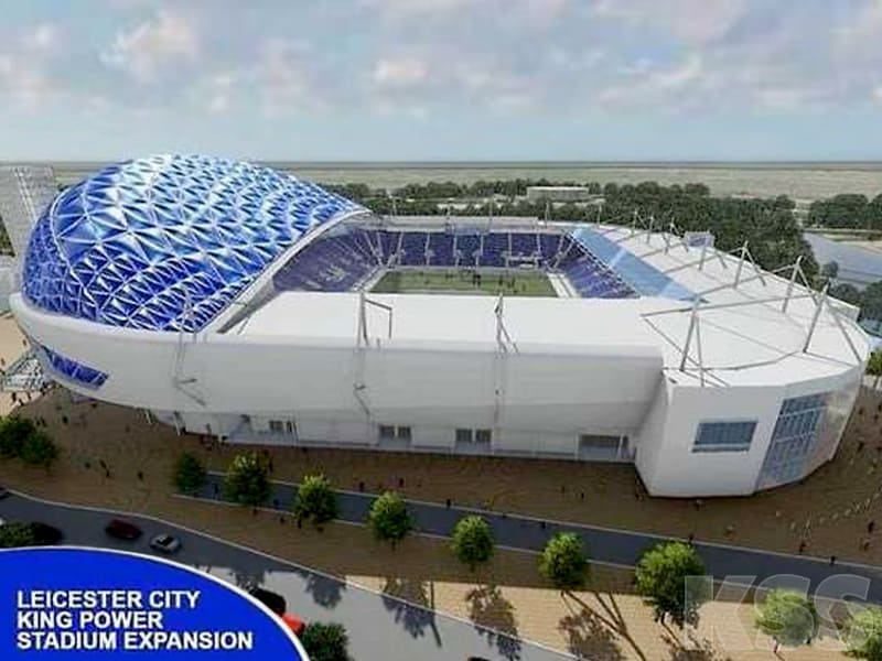 Leicester King Power Stadium expansion November 2020