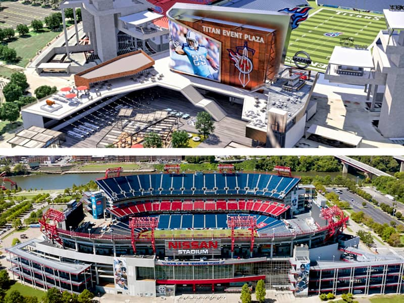 Tennessee Titans future of Nissan Stadium