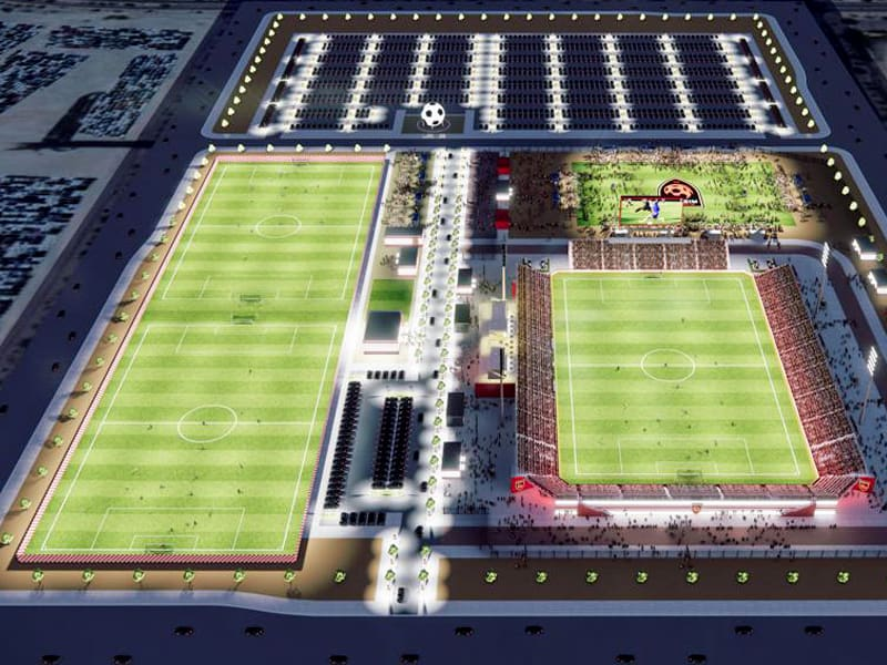 Phoenix Rising FC new stadium