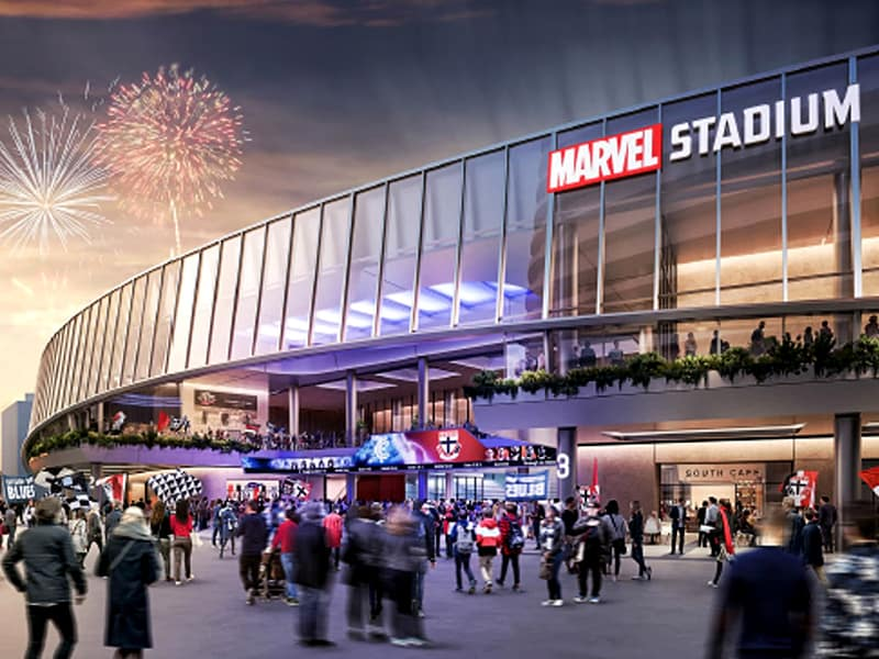 AFL Marvel Stadium revamp update Nov 2020