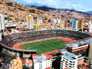 Bolivia La Paz Club Bolivar new stadium