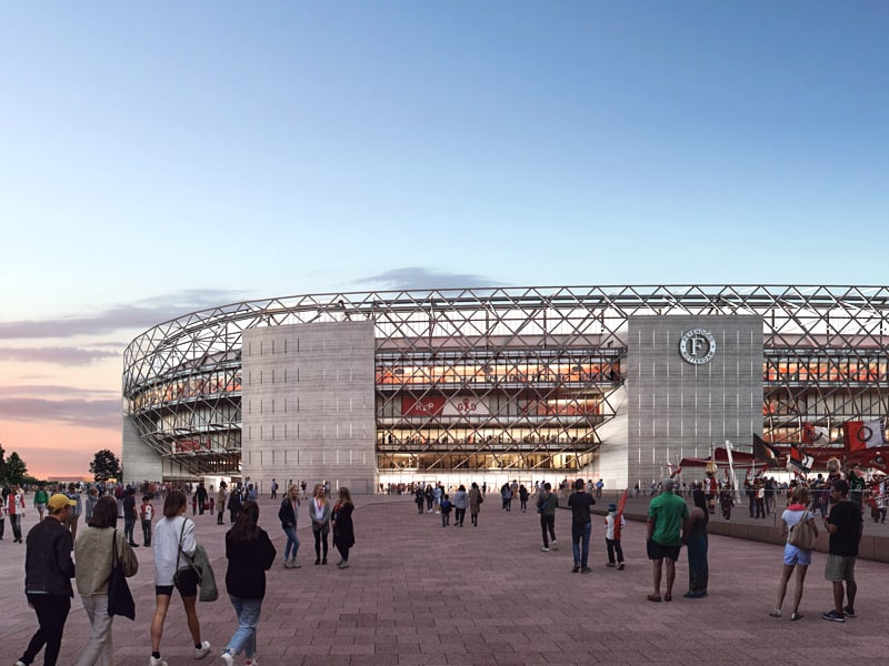 Feyenoord Stadium update June 2020