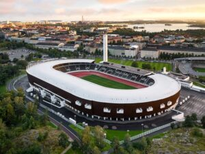 Finland Helsinki Olympic Stadium costs