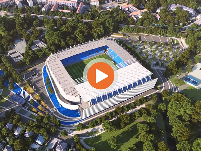 France RC Strasbourg new stadium