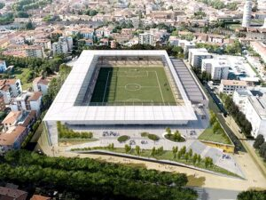 Pisa new stadium Arena Garibaldi update Jan 2021
