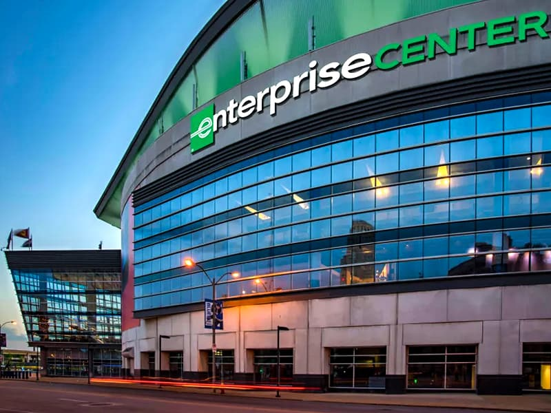 St. Louis Enterprise Center comeback with fans